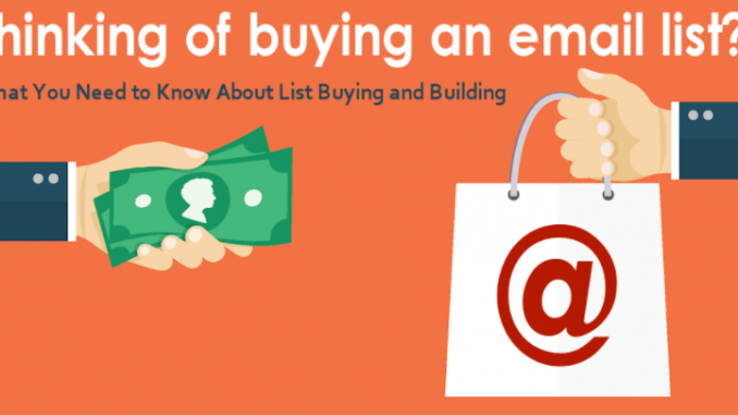 buy email list