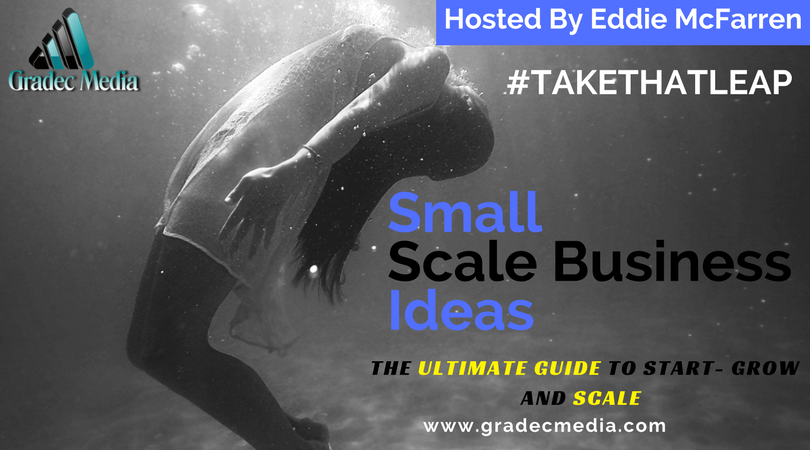 small scale business Ideas guide