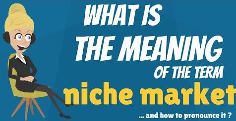 Niche: Niche Market Meaning