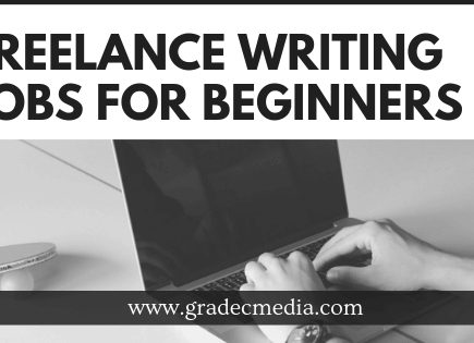 best Freelance Writing Jobs For Beginners