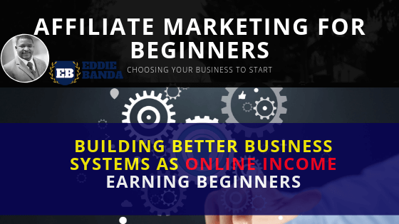 affiliate marketing as beginners